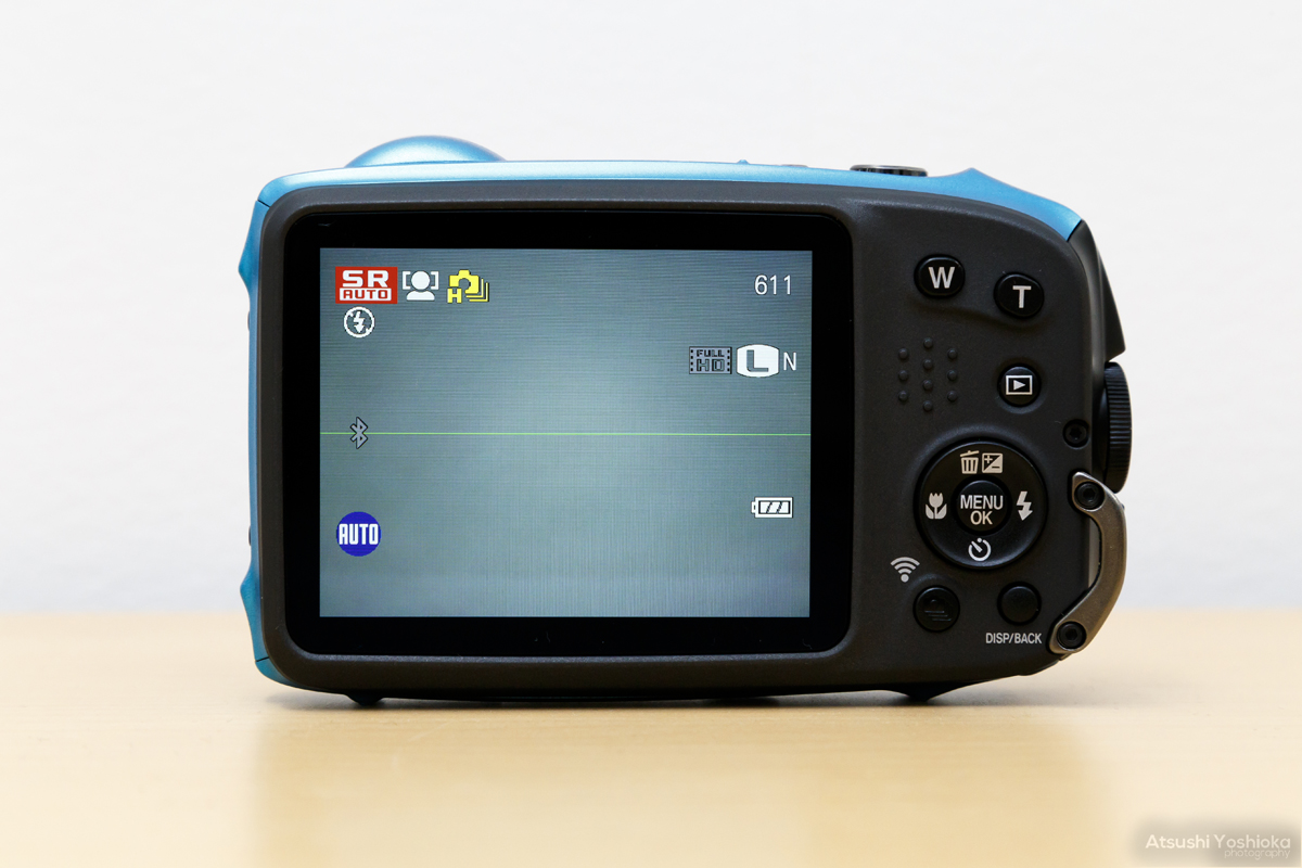 FinePix XP130 水準器