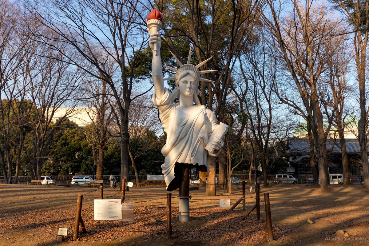 上野恩賜公園 自由な女神