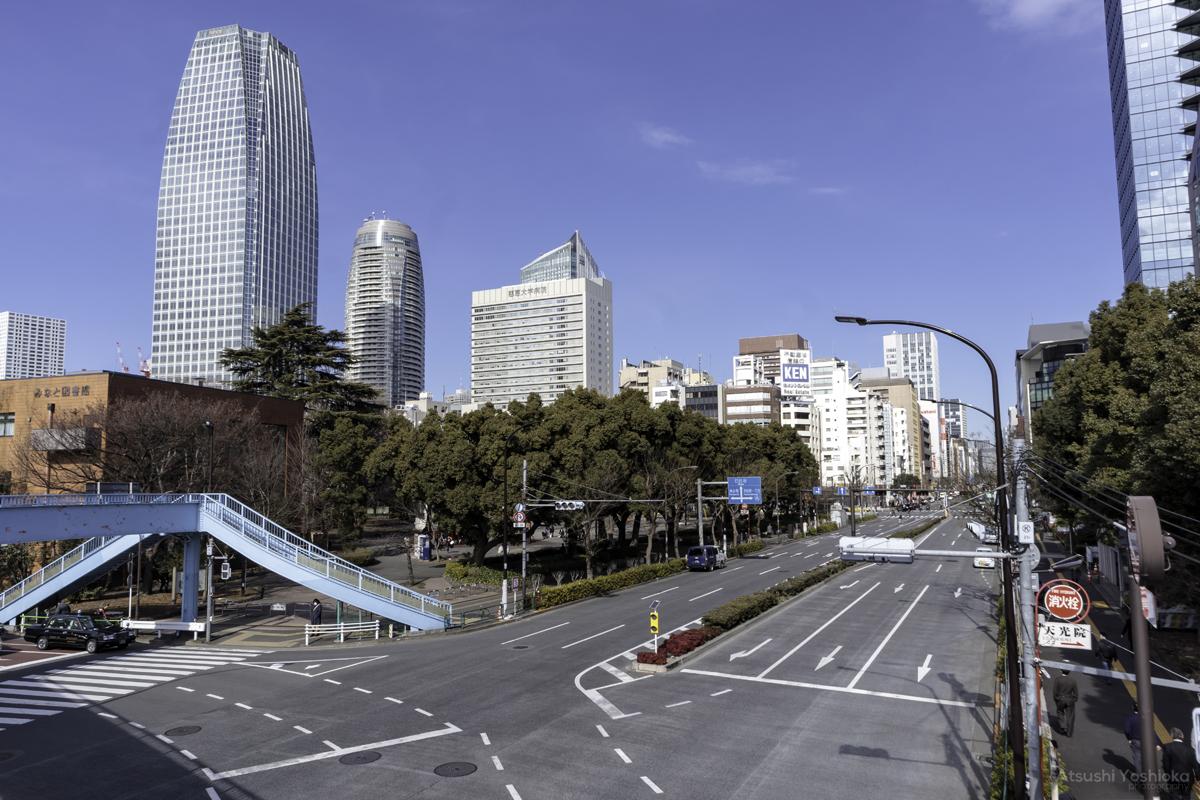 芝公園歩道橋