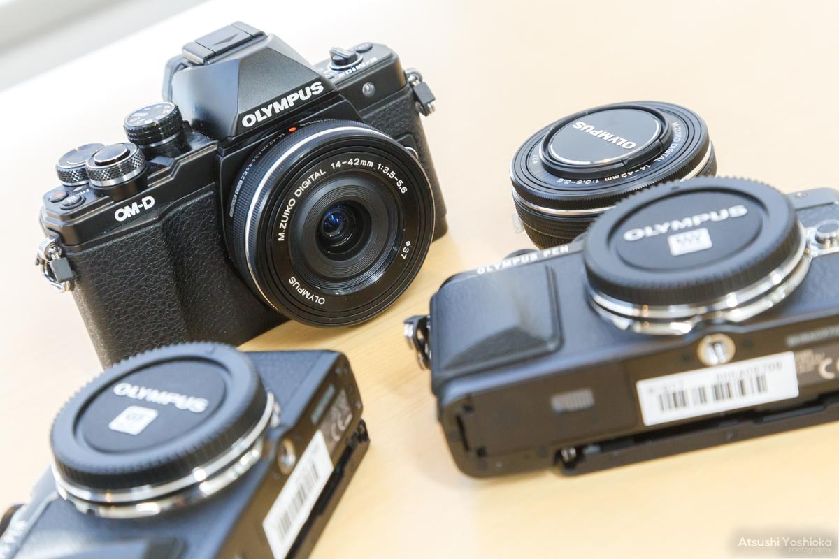 水中で使えるカメラの種類 一眼カメラ(ミラーレス一眼、一眼レフ)