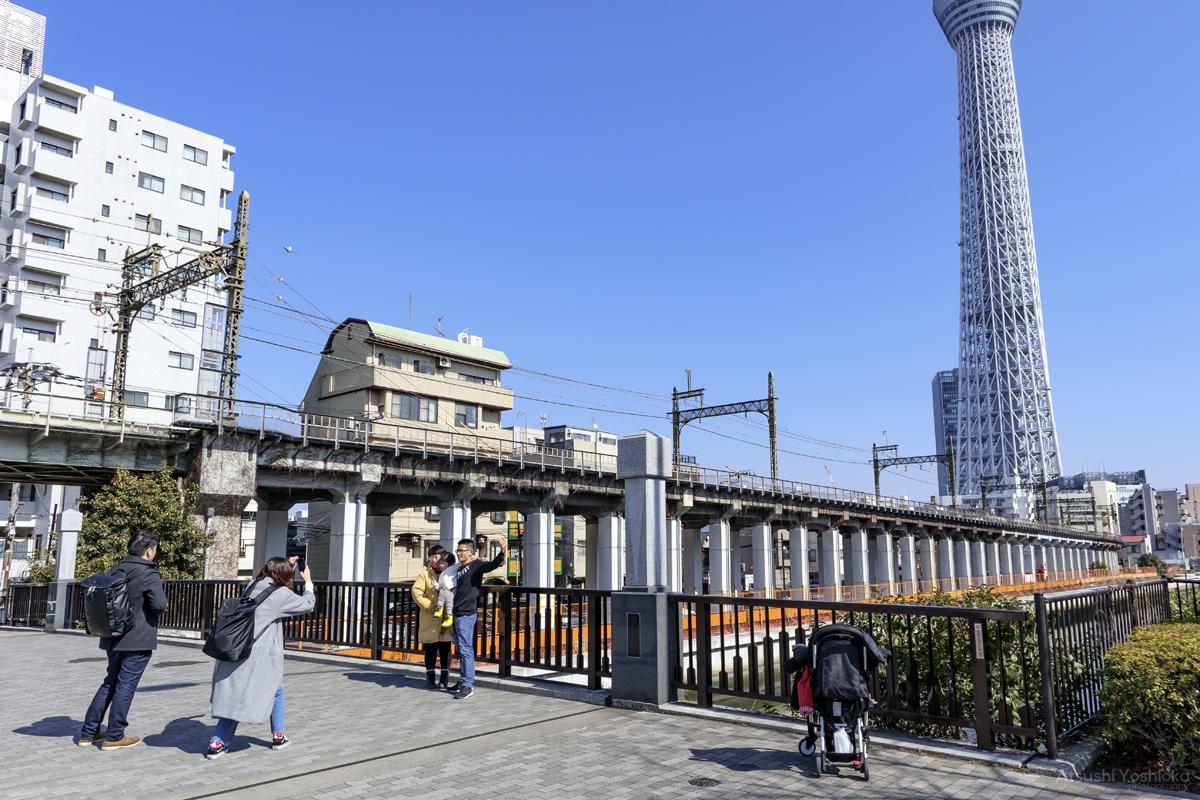 東京スカイツリー 源森橋