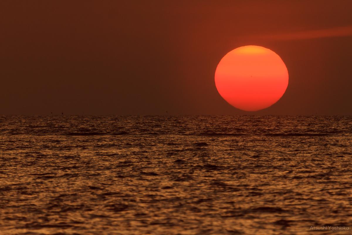 夕日 撮影 方法