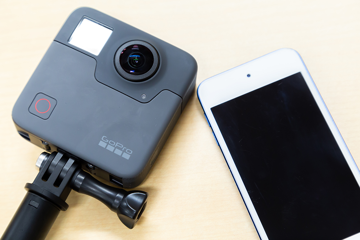 GoPro Fusion 対応デバイス