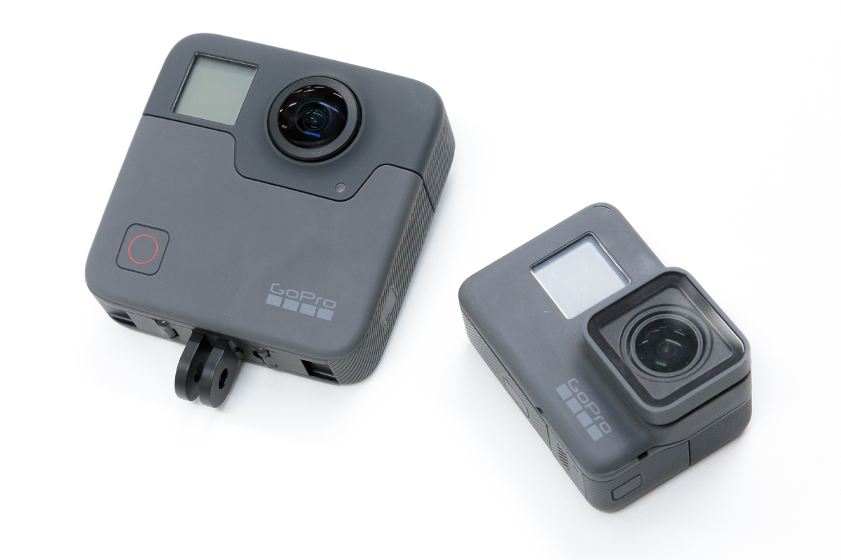 GoPro ラインナップ比較