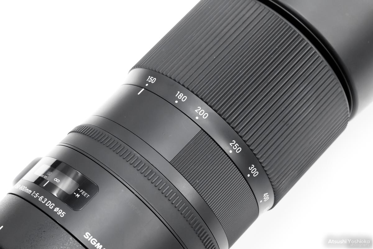 SIGMA 150-600mm F5-6.3 DG OS HSM ズームリング