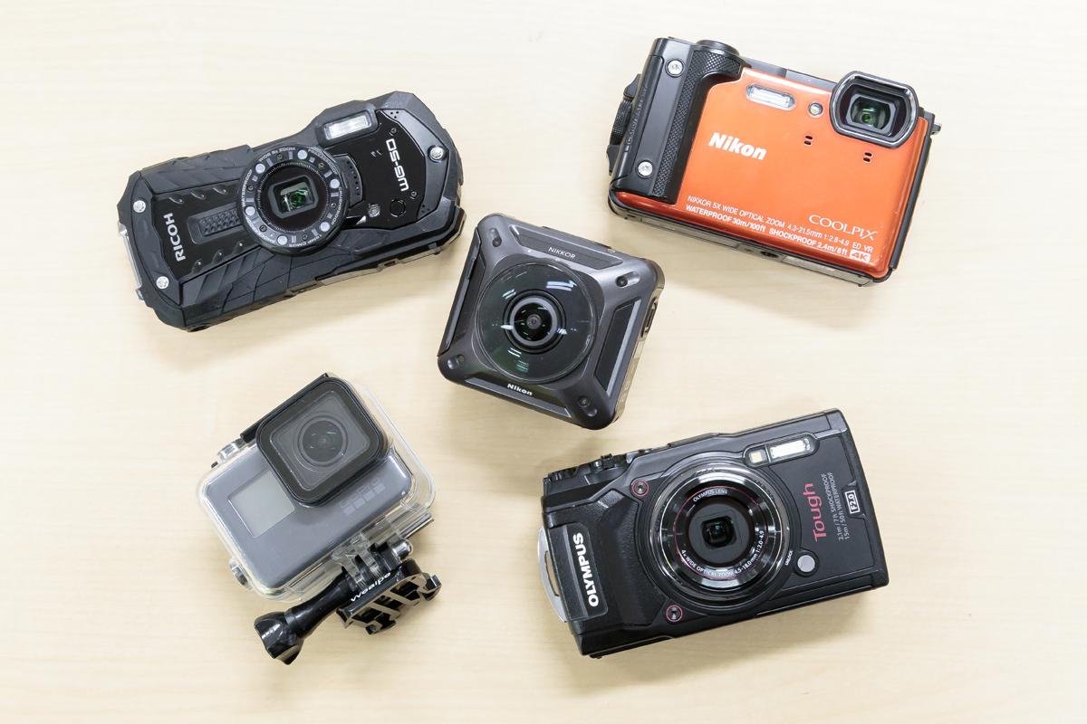 お得にレンタルできるおすすめ防水カメラ全8種