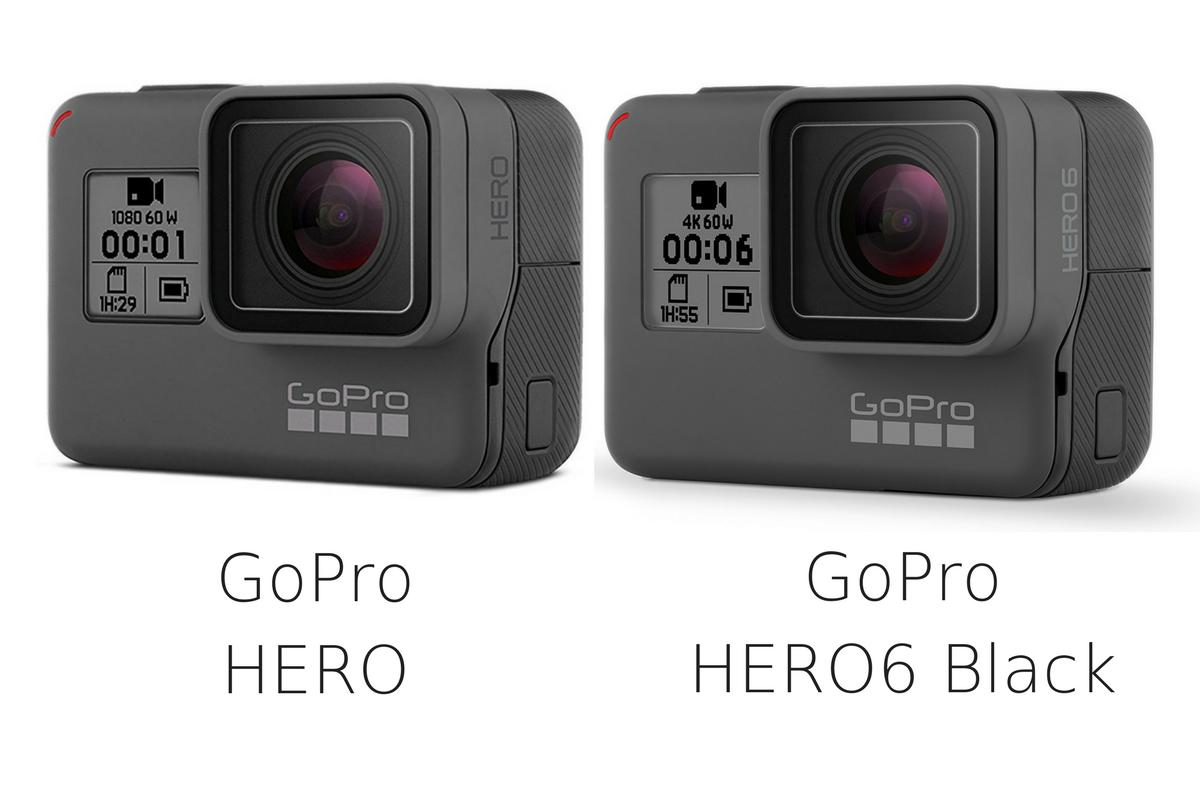 GoPro Hero6 HERO 比較