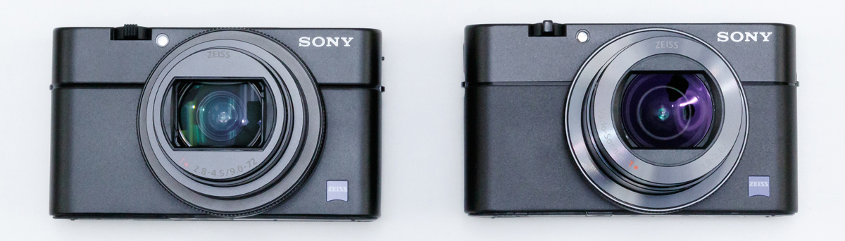 SONY RX100M6 M5 比較