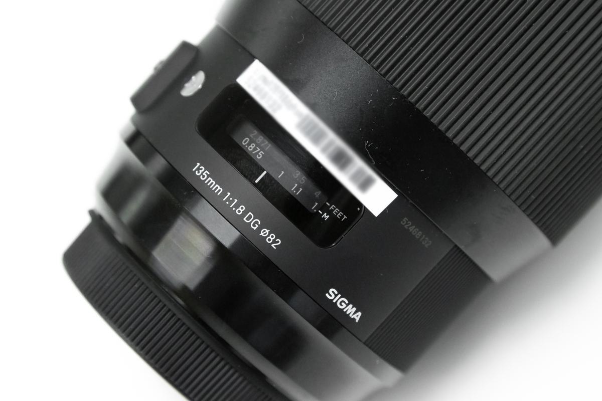 SIGMA 135mm F1.8 DG HSM レビュー