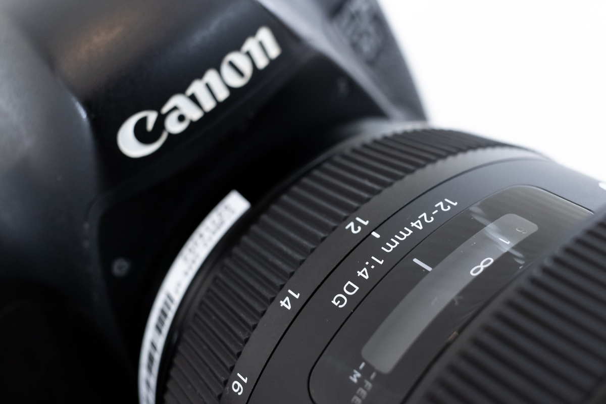 SIGMA 12-24mm F4 DG HSM 絞り値変化