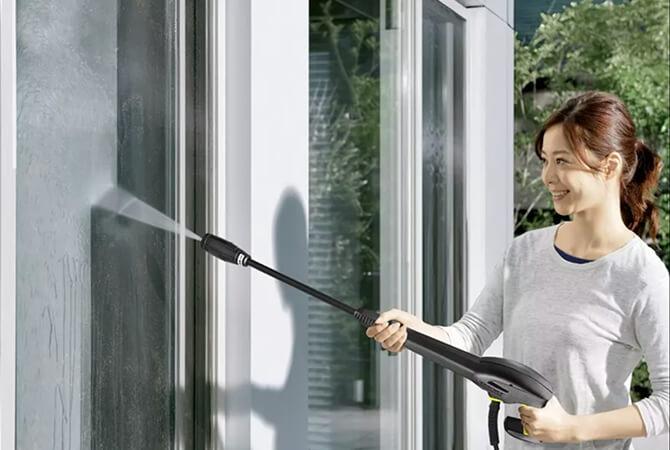 窓掃除におすすめの高圧洗浄機