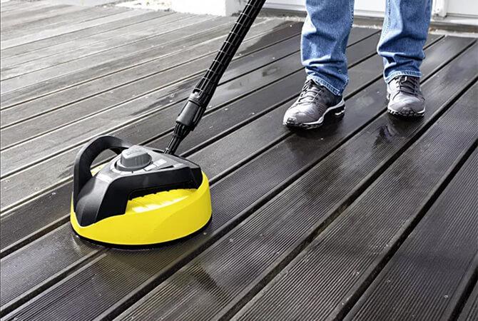 家まわりの掃除に便利なオプションアクセサリー