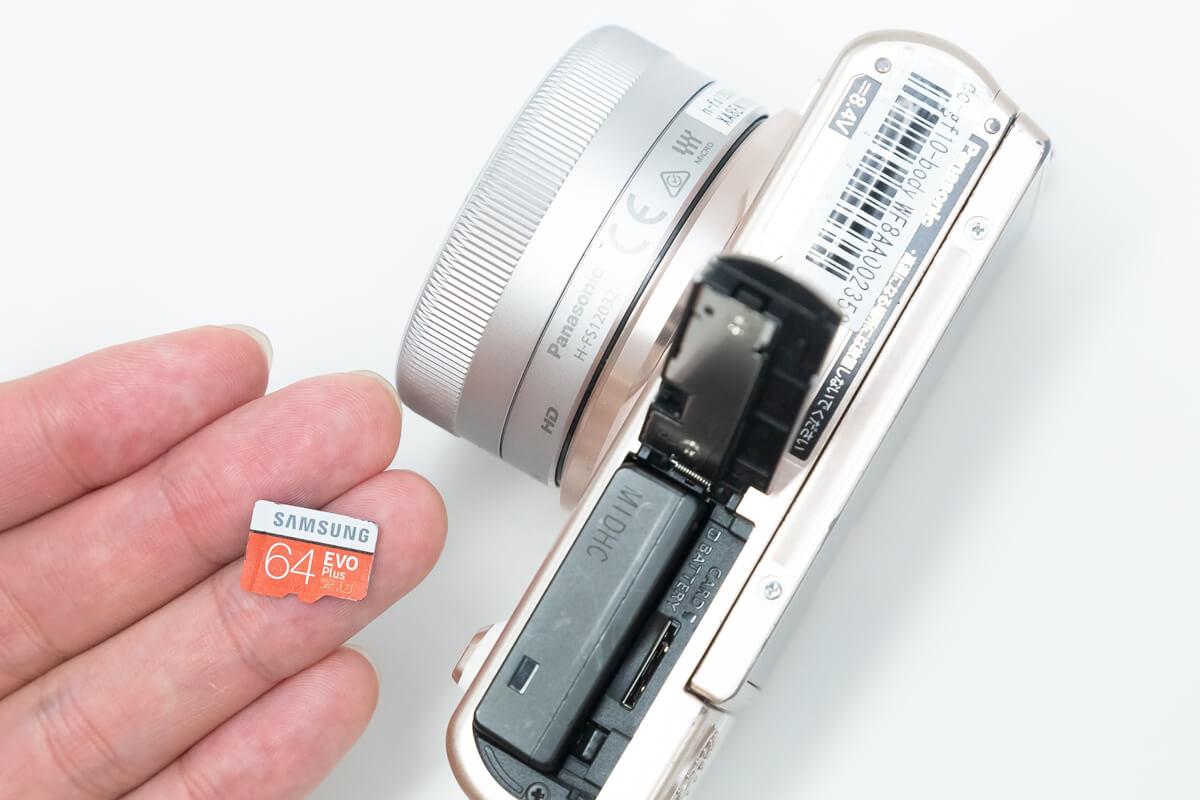 DC-GF10 microSDカード