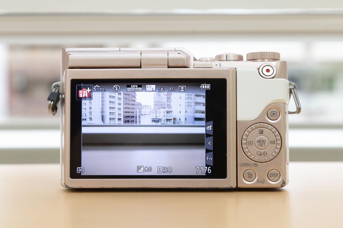 Panasonic LUMIX DC-GF10 ボタン配置