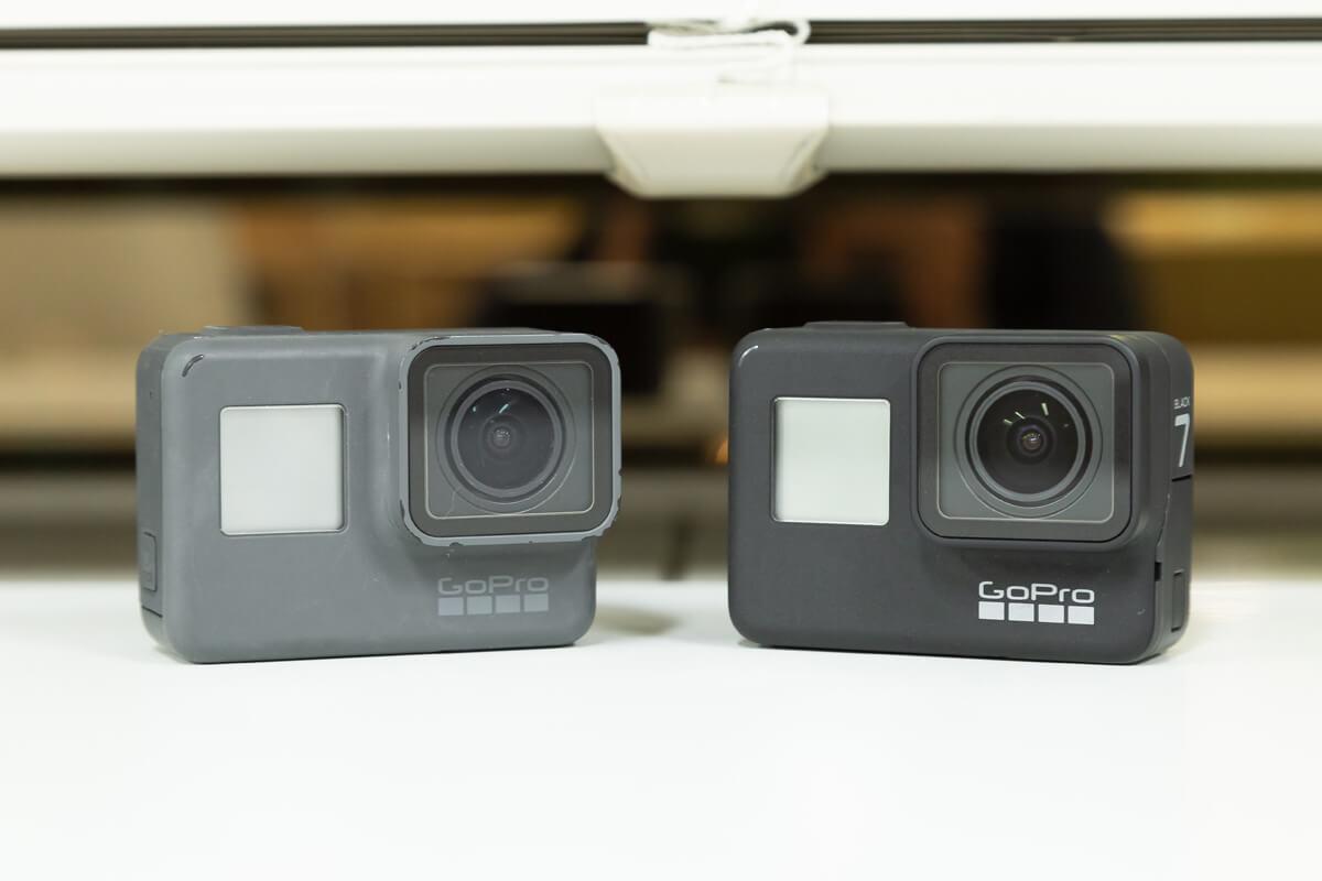 GoPro HERO7 GoPro HERO6 比較