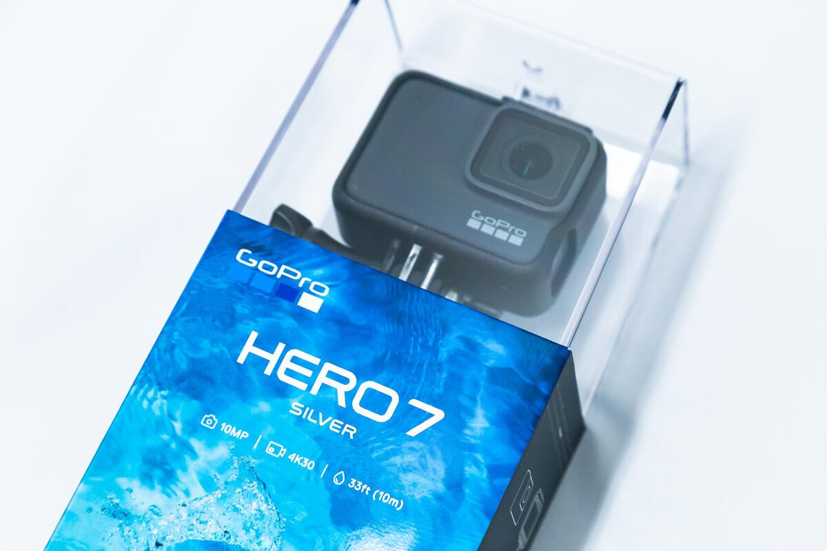 GoPro HERO7 Silver 中位モデル