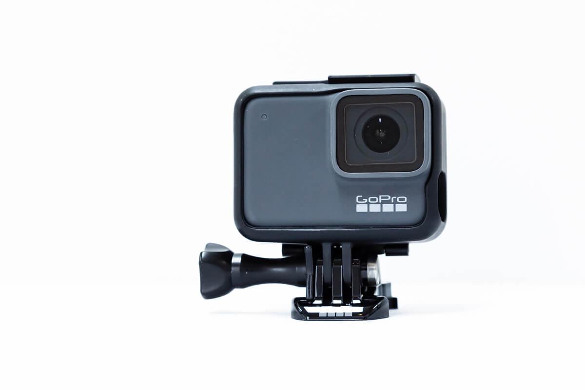 GoPro HERO7 Silver フロントディスプレイ