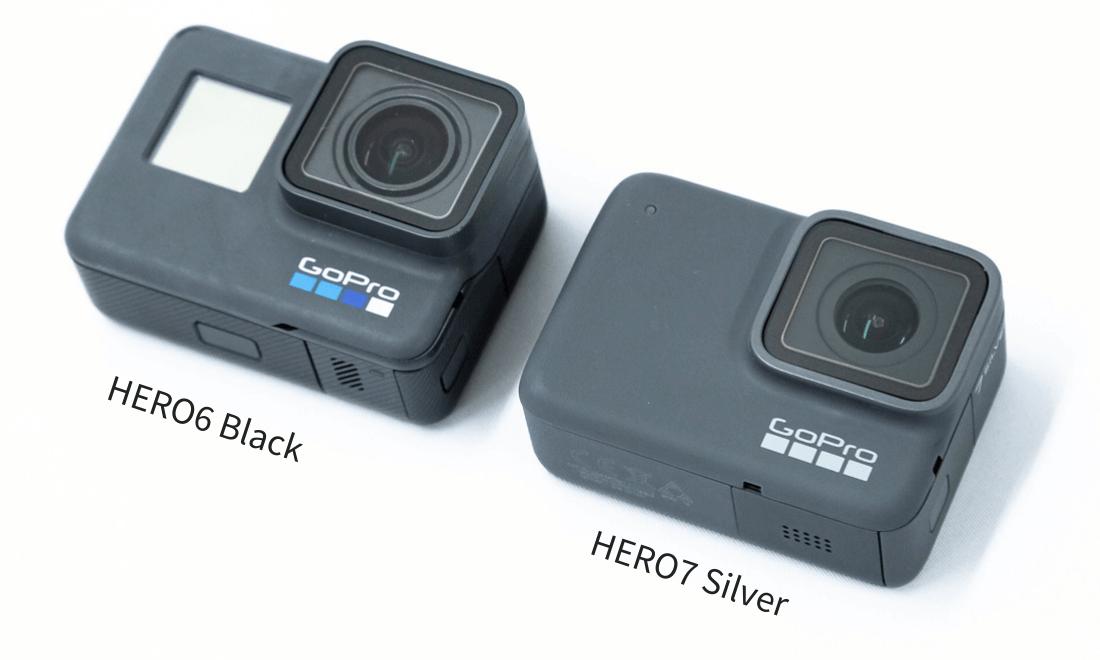 GoPro HERO7 Silver HERO6 Black 比較