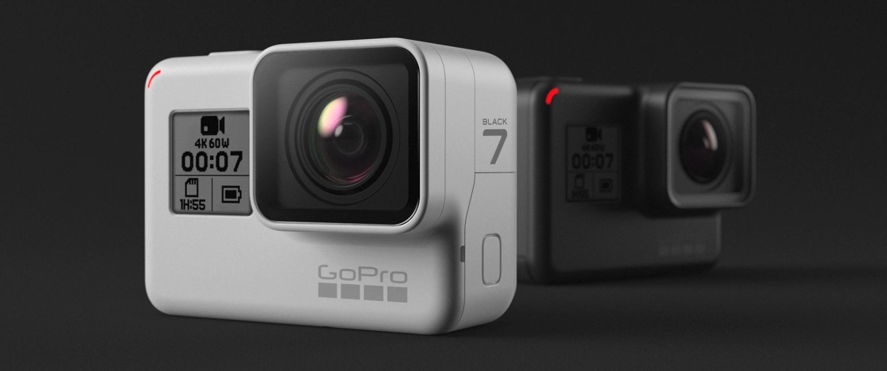 GoPro HERO7 Black Dusk White色