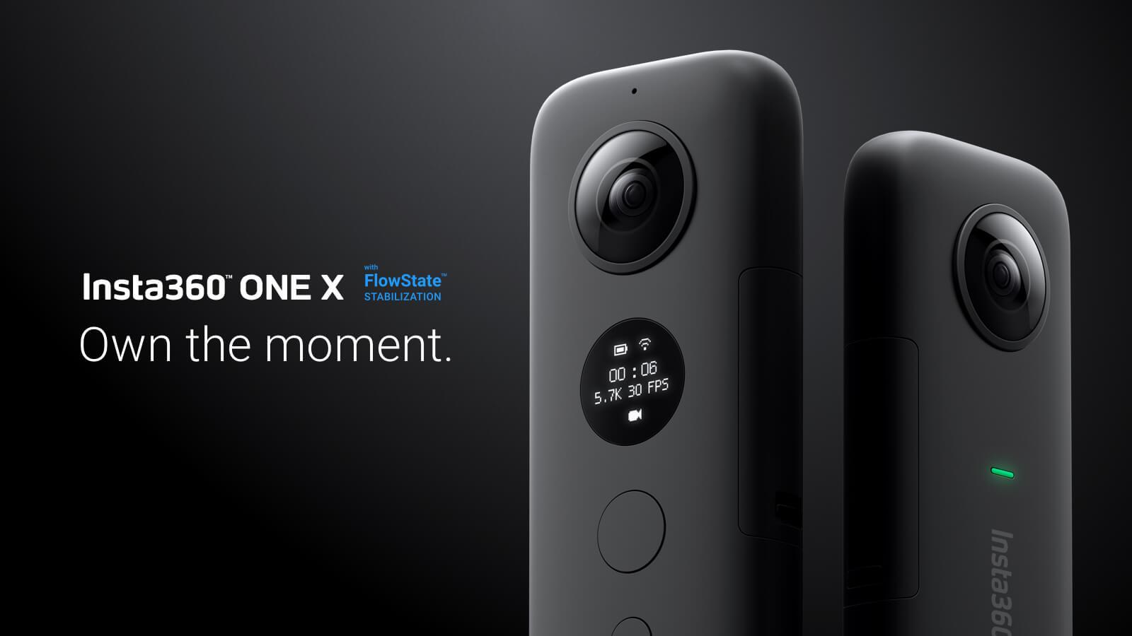 Insta360 ONE X 発表