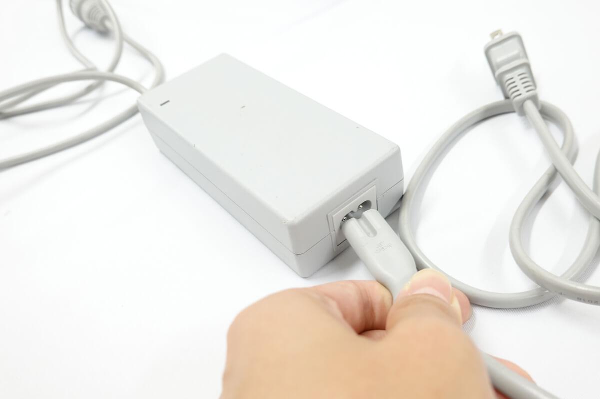 WINBOT 950 電源コードを設置