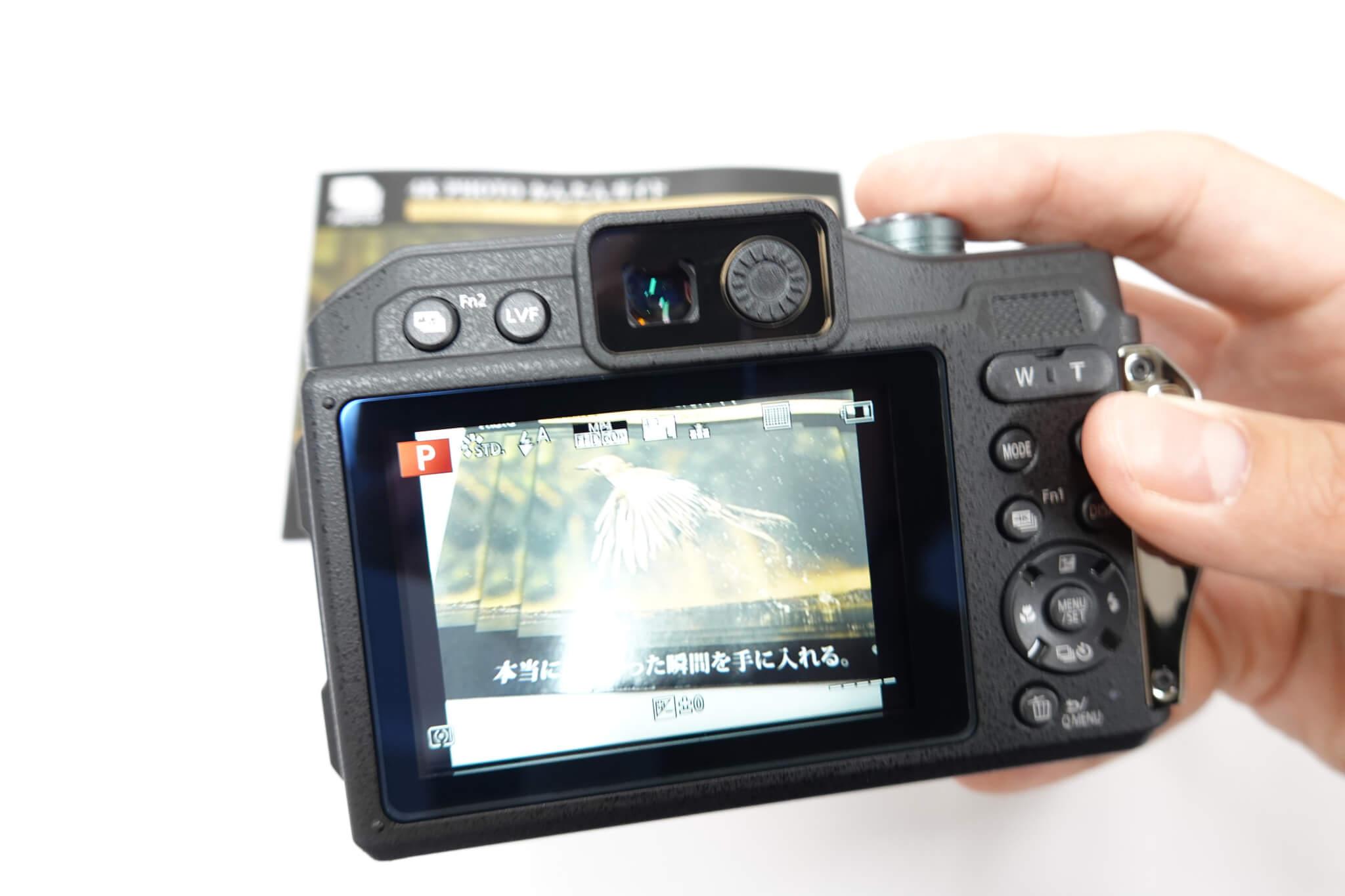 LUMIX DC-FT7 カメラの電源を入れて撮影