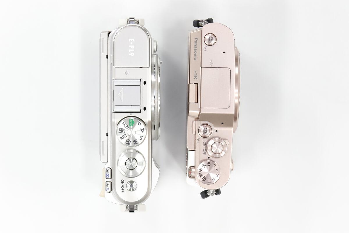 E-PL9 GF10 大きさ 比較