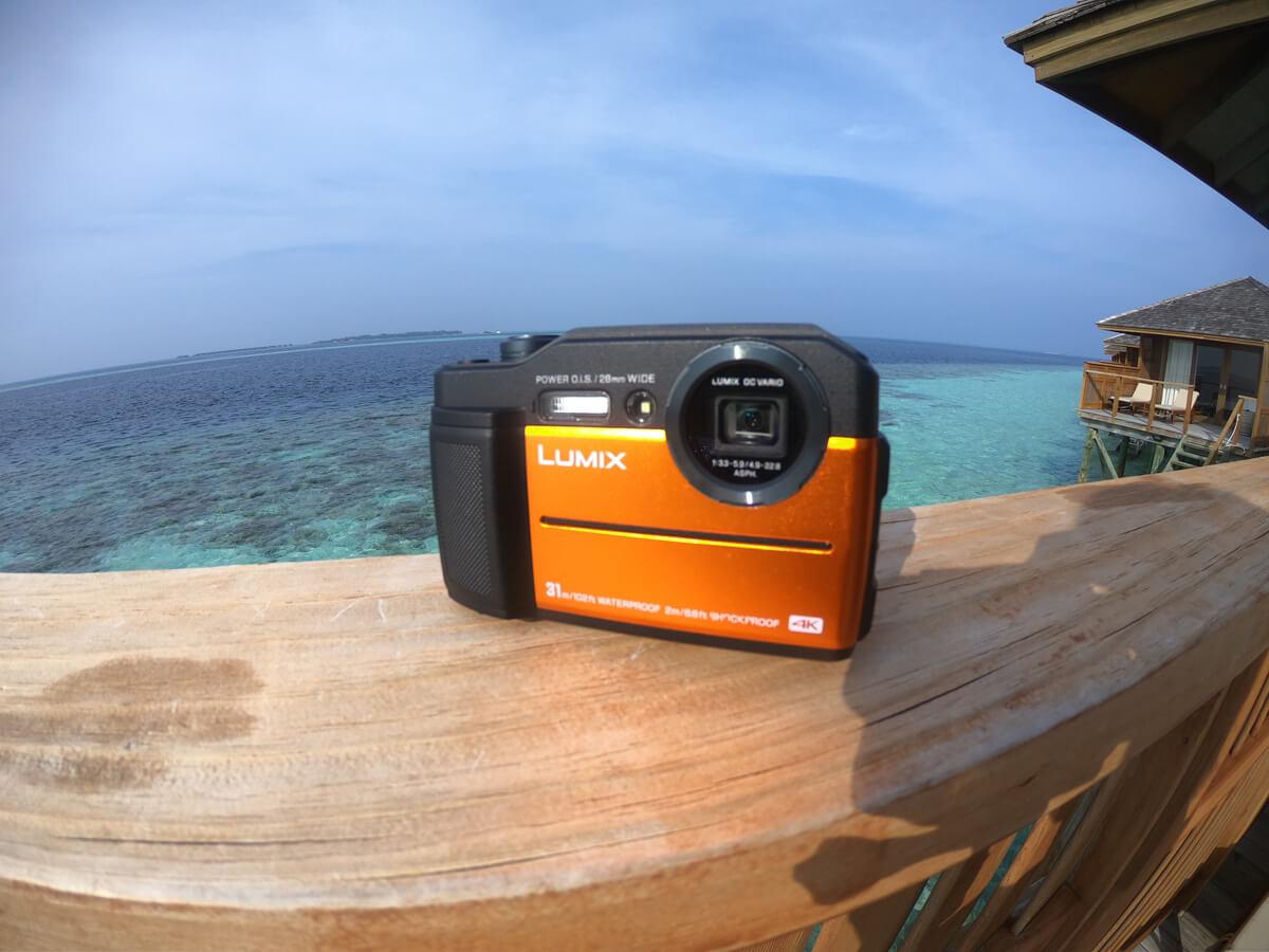 水中で使えるカメラの種類 コンパクトデジタルカメラ