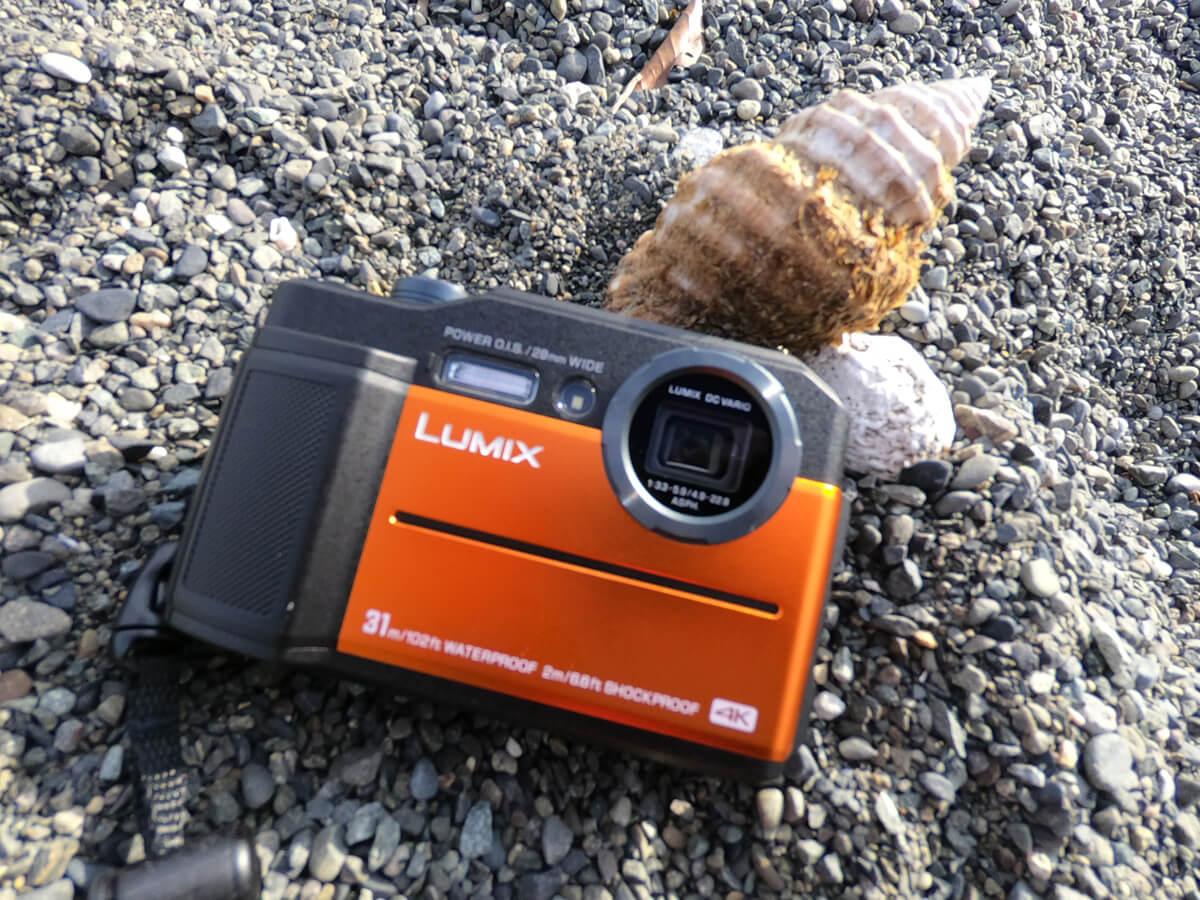 Panasonicの防水31mカメラ「LUMIX DC-FT7」実写レビュー!ダイビングやアウトドアでの撮影におすすめ