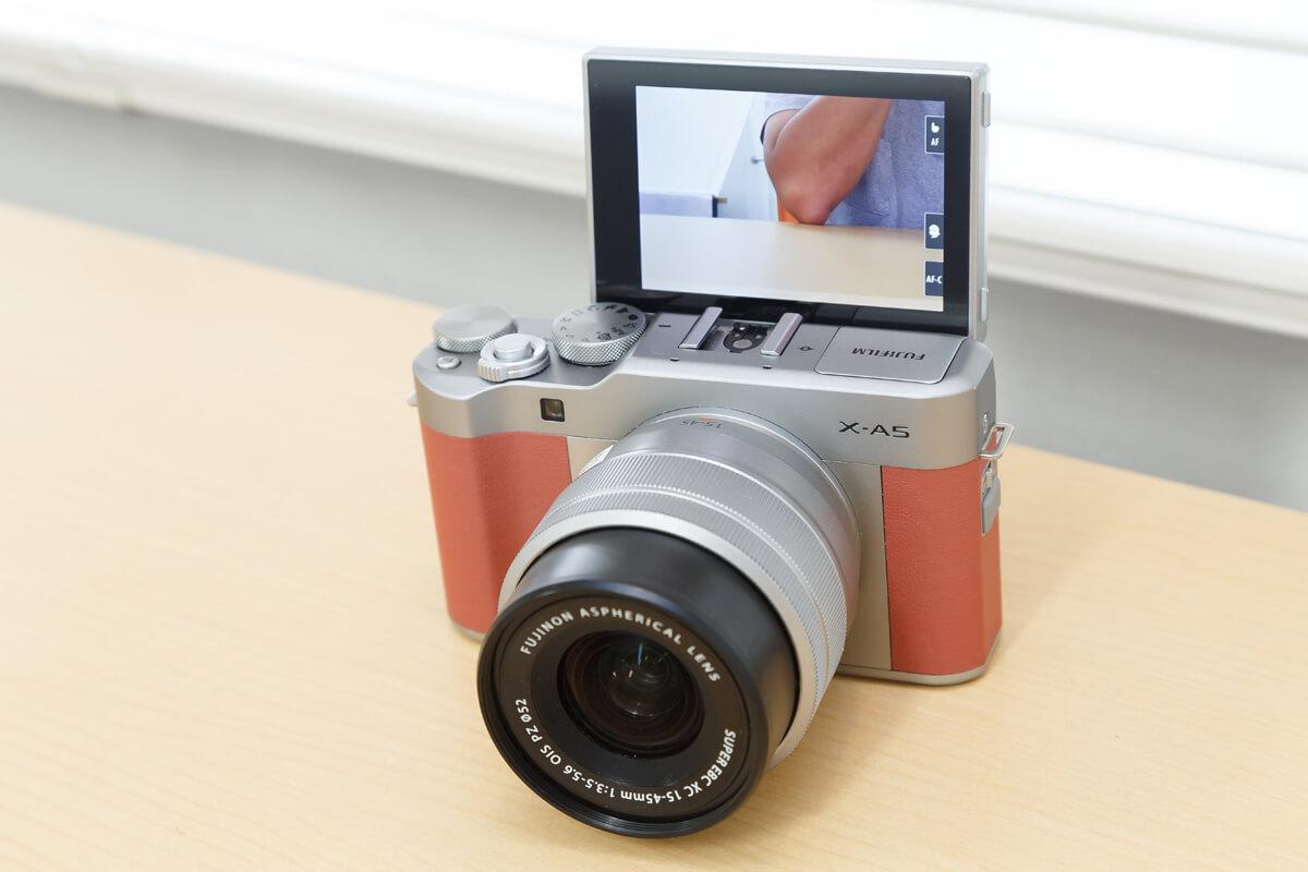 自撮り カメラ 選び方