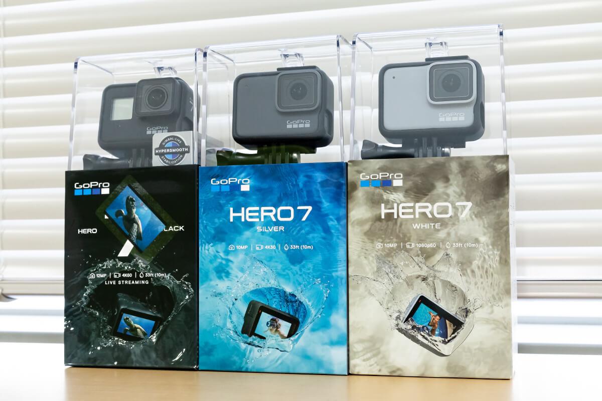 GoPro HERO7 3モデル