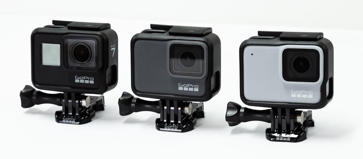 GoPro HERO7 比較
