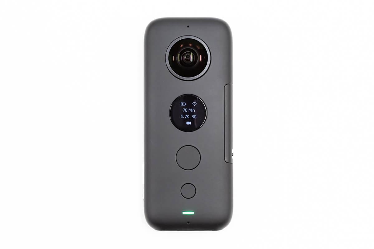 Insta360 ONE X ボタン