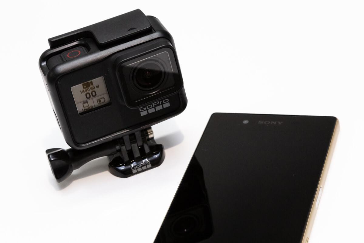 GoPro アプリ