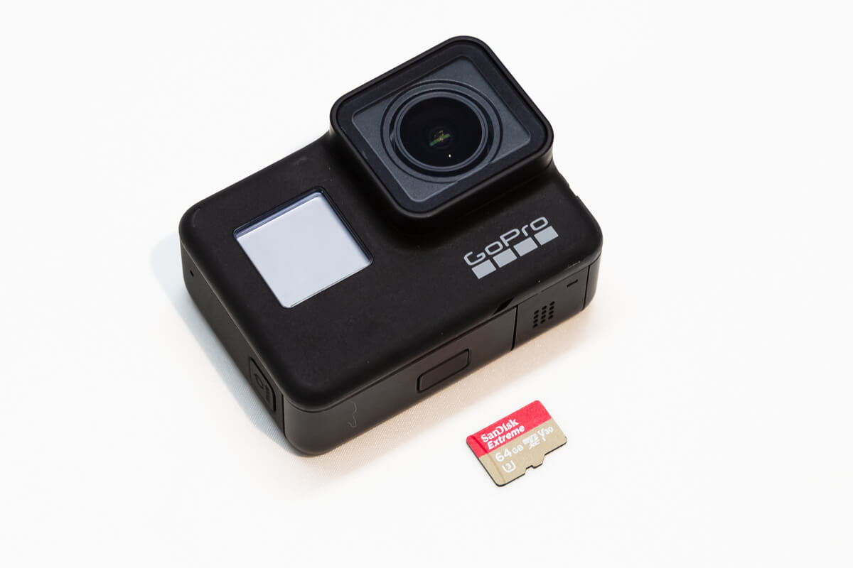 GoPro microSDカード