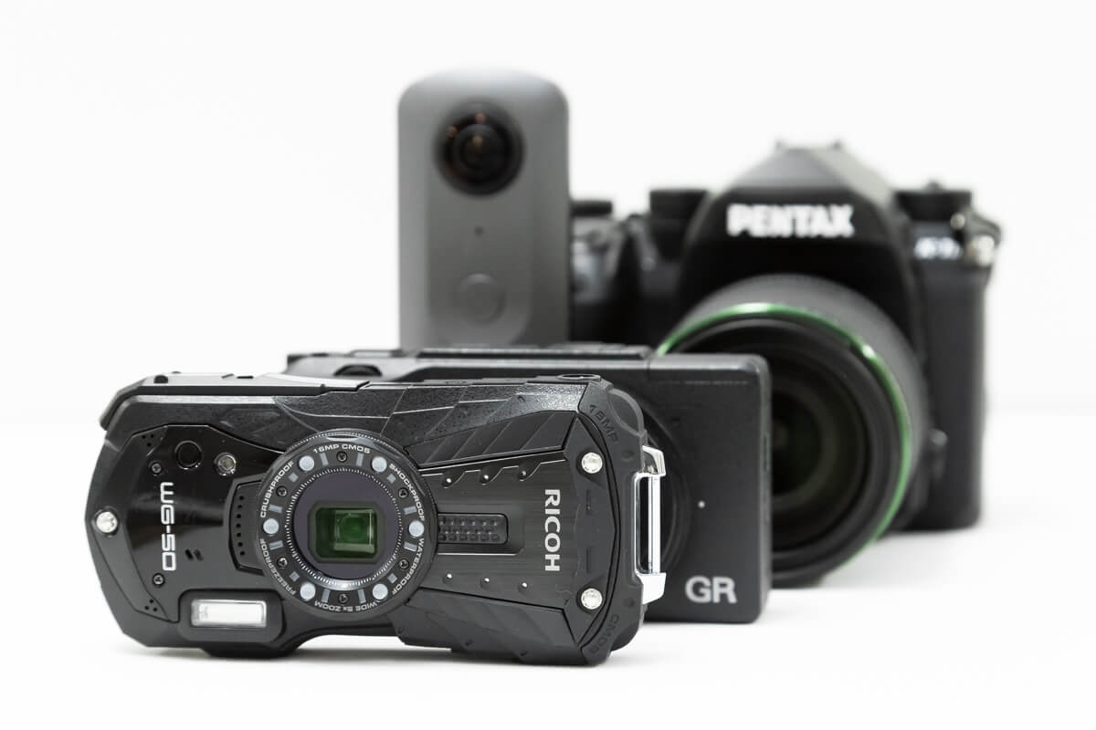 リコーのカメラ製品一覧