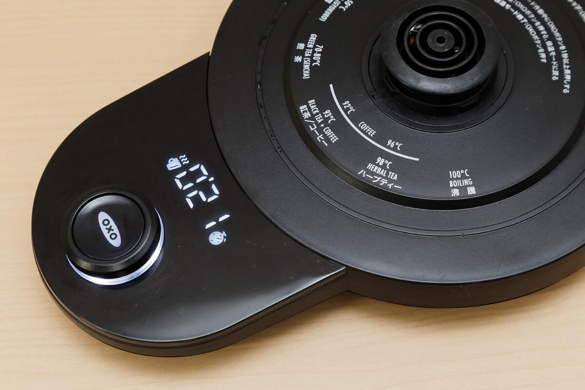 OXO ON ドリップケトル カウントアップタイマー