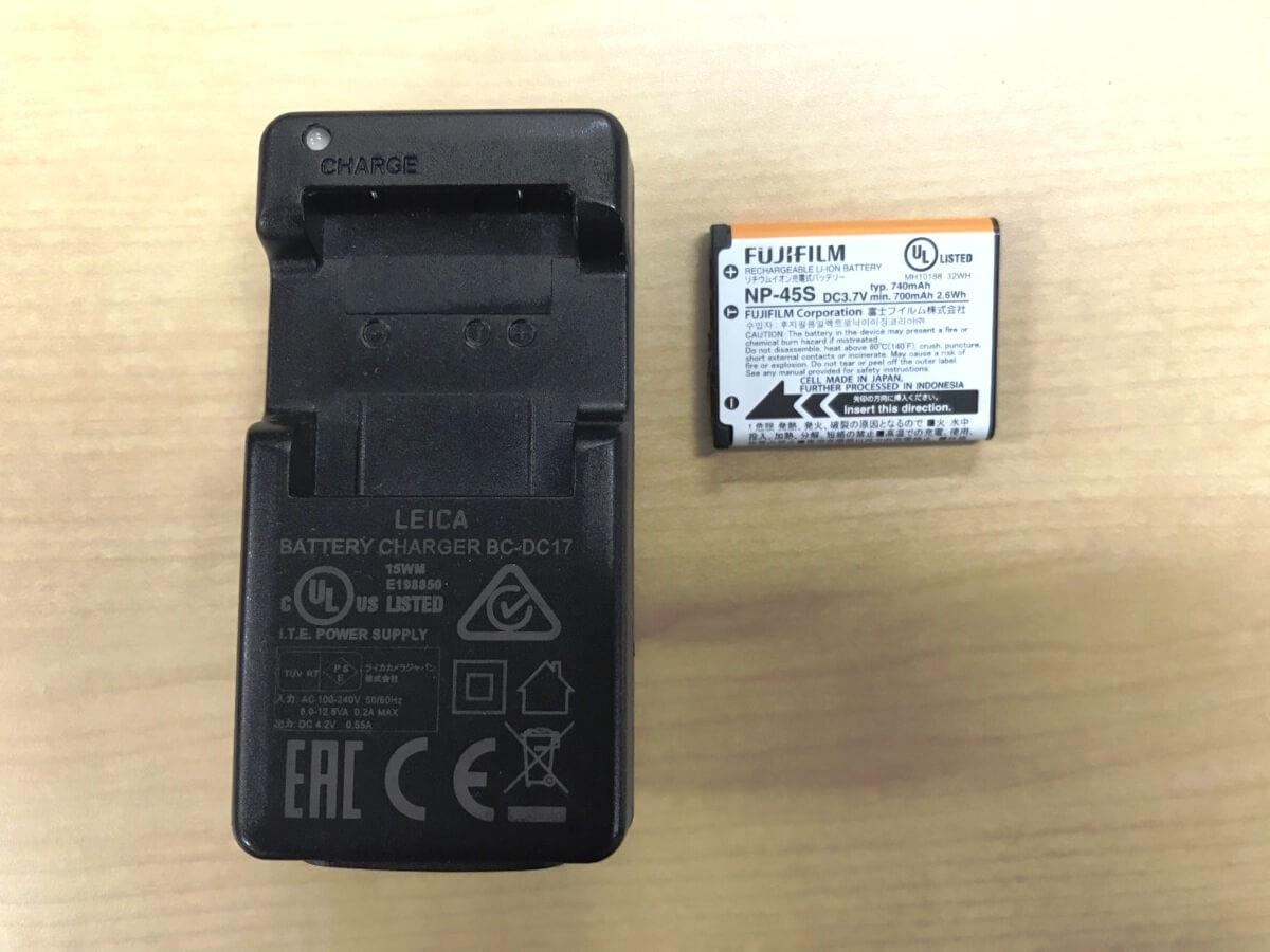 チェキの電池_充電式リチウムイオン電池
