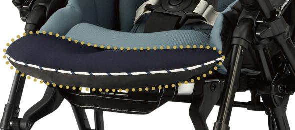 軽量ベビーカー選び方のポイント 衝撃吸収機能