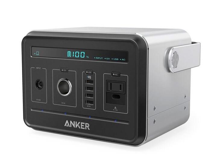 ポータブル電源「Anker Powerhouse」を紹介!どこでも大容量の電源を確保できる!?