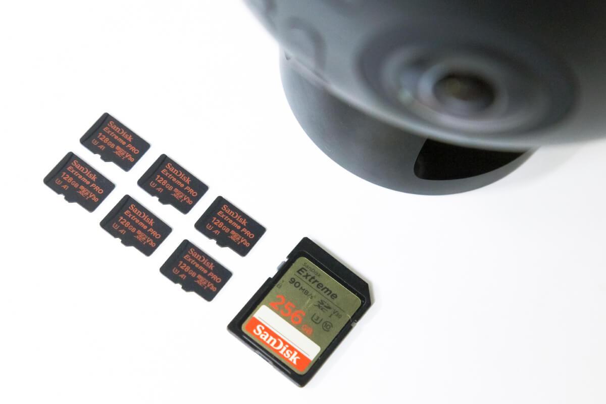 Insta360 Pro2 SDカード
