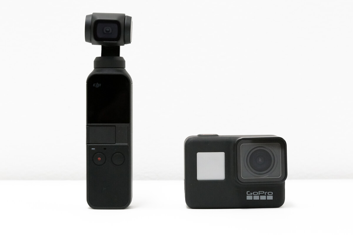 「GoPro HERO7 Black」「DJI Osmo Pocket」とは?