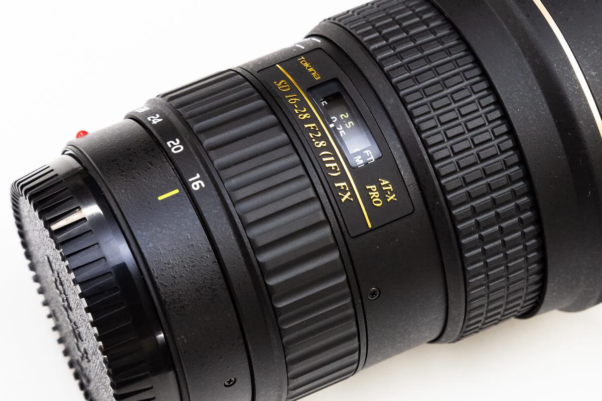 Tokina AT-X 16-28 F2.8 PRO FX フルサイズ対応