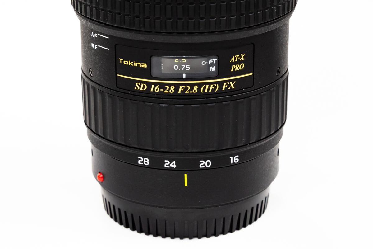 Tokina AT-X 16-28 F2.8 PRO FX 広角レンズ