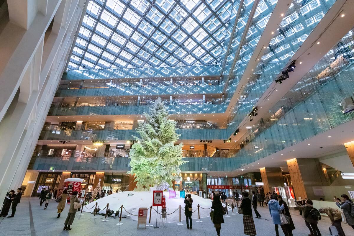 東京駅 KITTE クリスマスツリー
