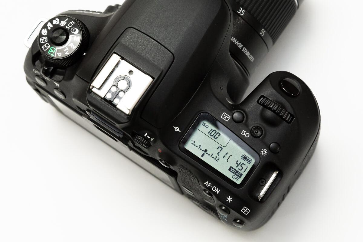Canon EOS 9000D パネル