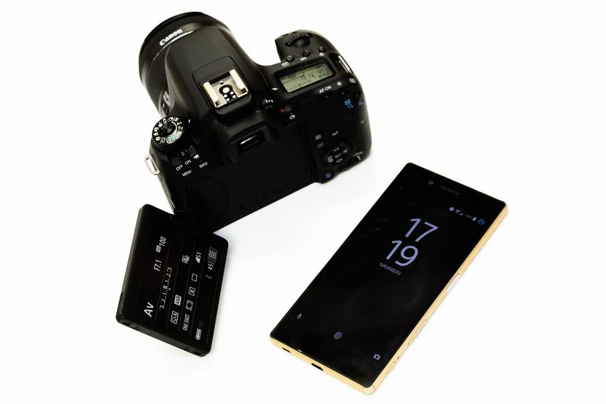 Canon EOS 9000D スマホ連携