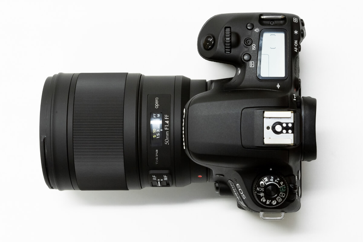 Tokina opera 50mm F1.4 FF 大きさ