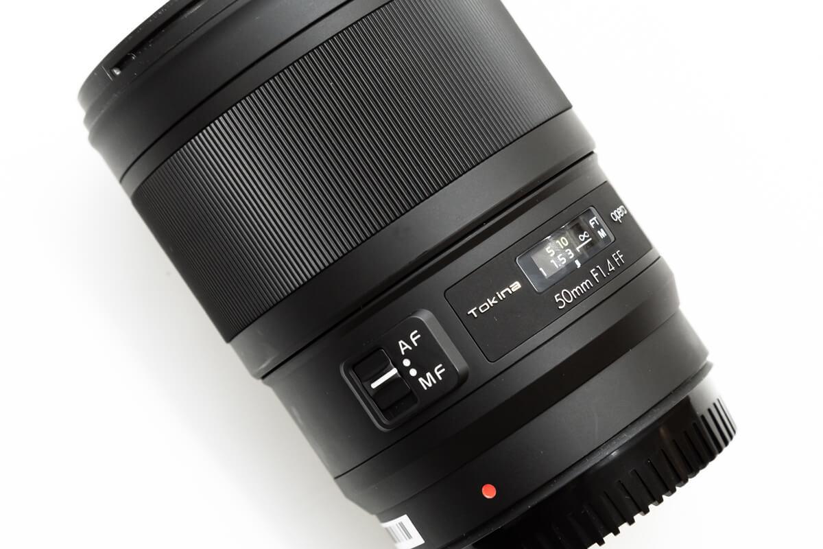 Tokina opera 50mm F1.4 デザイン
