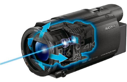 FDR-AX60 フォーカス機能